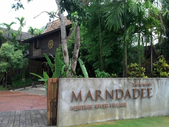 The Marndadee Boutique Resort Chiang Mai : entrance