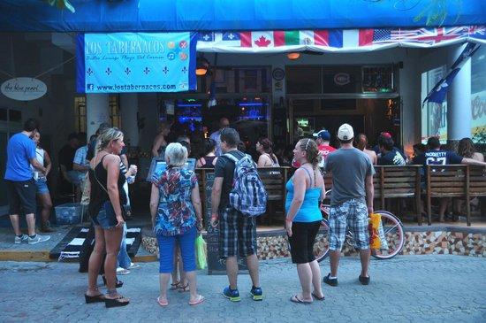 Los Tabernacos Sports Bar and Lounge: Los Tabernacos Playa del Carmen