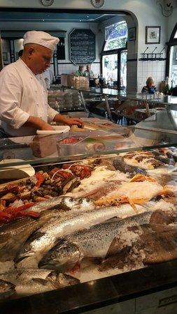 Fischhaus: Various Fresh Seafood