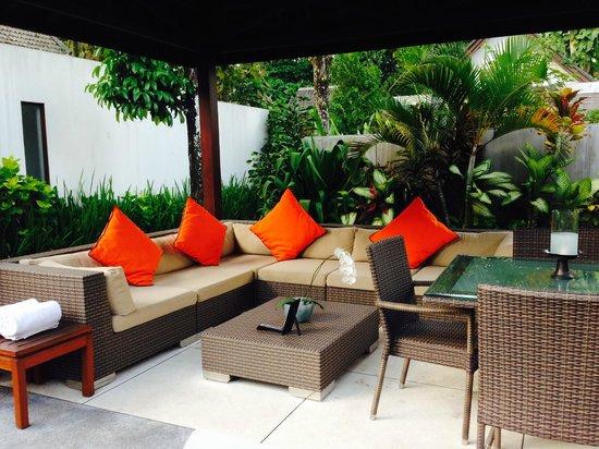 The Samaya Bali Ubud: Sitting out