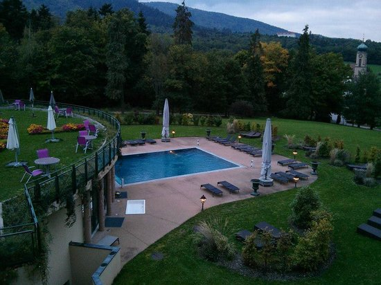 Les Violettes Hotel & Spa Alsace, BW PREMIER Collection : piscine