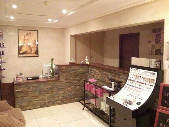 Les Violettes Hotel & Spa Alsace, BW Premier Collection : entrée du spa