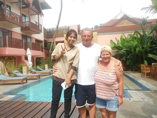 Seaview Patong Hotel: Poolbereich