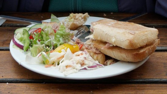 The Stables Bistro Bar: Very dry tuna panini - not good