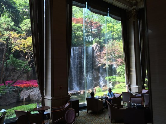 Lotte Hotel Seoul : Waterfall