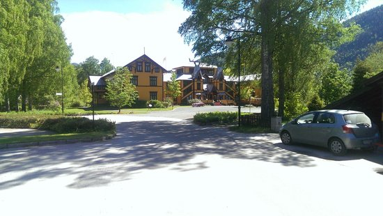 Dalen Hotel: Main entrance