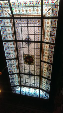 Dalen Hotel: Glass roof