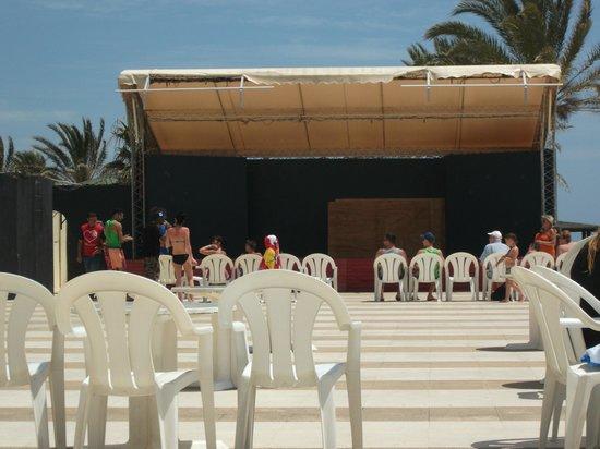 Omar Khayam Club: outdoor stage