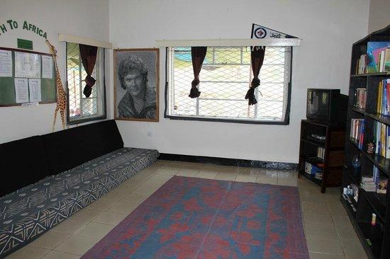 Hostel Hoff: Sitting room