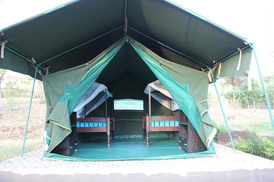 Hostel Hoff: Sleeping tent