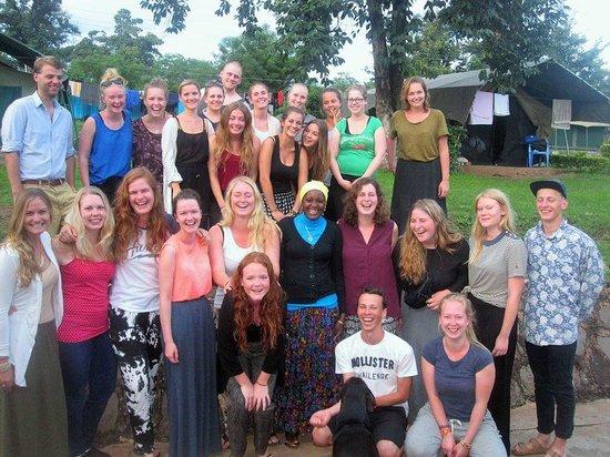 Hostel Hoff: Group volunteer picture