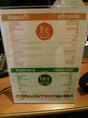 Saray Hotel: Breakfast options