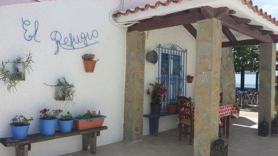 El Refugio: Entrada principal