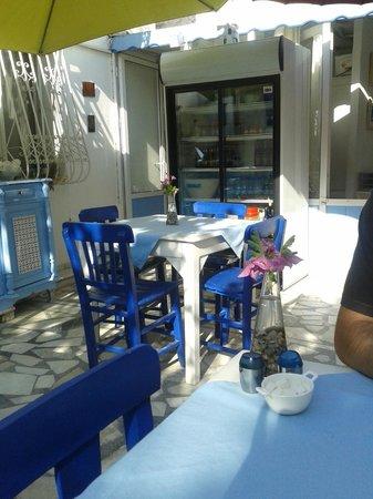 Bodrum Sade Pansiyon: Terrasse