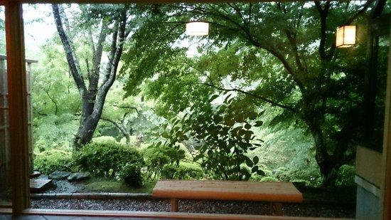 Onyado Chikurintei : 客室から景色