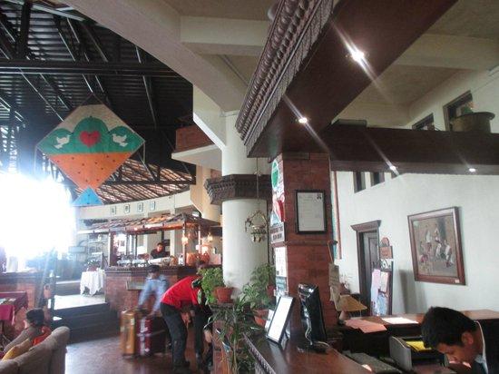 Club Himalaya: ホテルの食堂