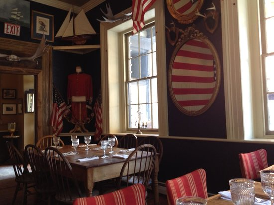 Liberty: dining room