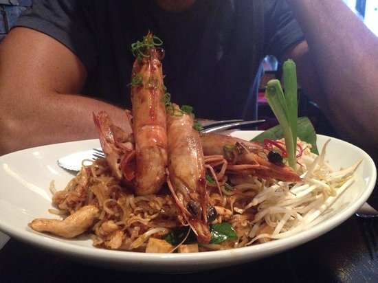 The SEAT Hometaurant: King prawn noodles