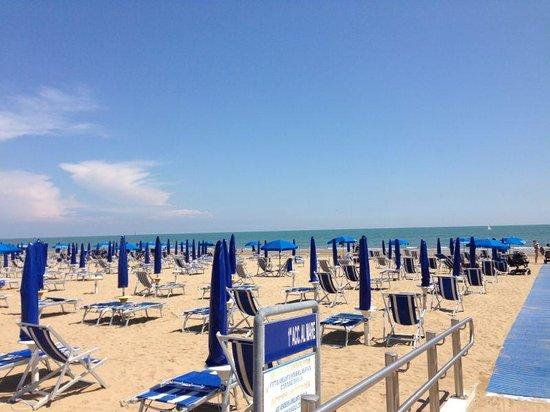 Hotel Germania: spiaggia
