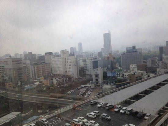 Hotel Granvia Hiroshima : View from our hotel room