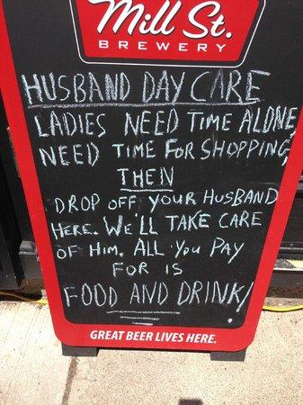 The Irish Harp Pub: Husband Daycare