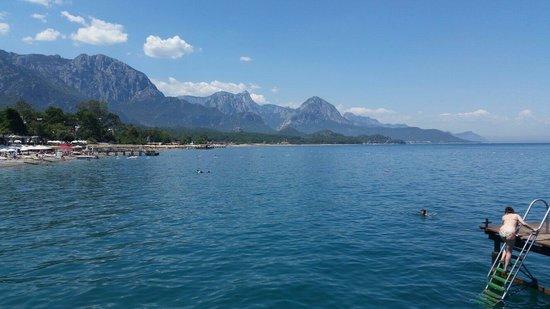 View from the jetty Barut Kemer Resort Hotel