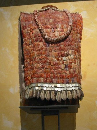 Musée national d'anthropologie de Mexico : Vest