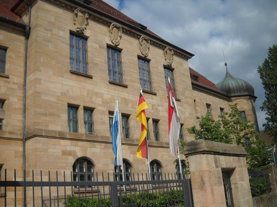 Nuremburg Trial Courthouse: Right beside current courthouse