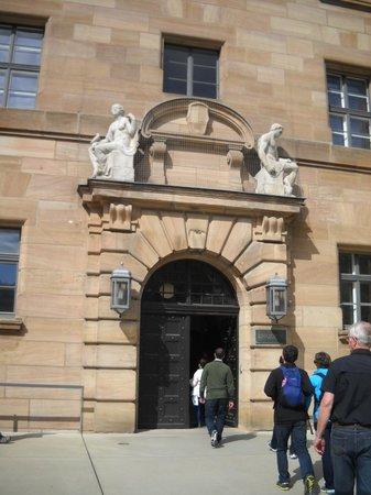 Nuremburg Trial Courthouse: Main door