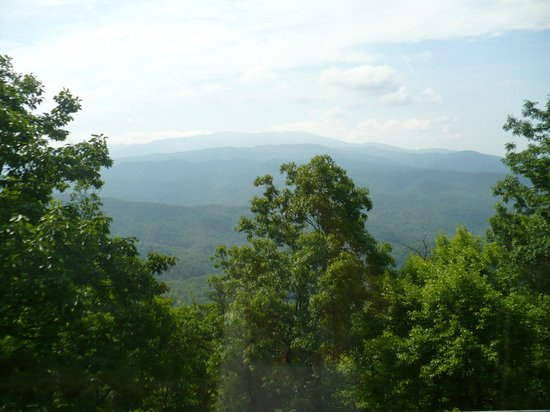 Chilhowee Mountain Retreat: View from Room