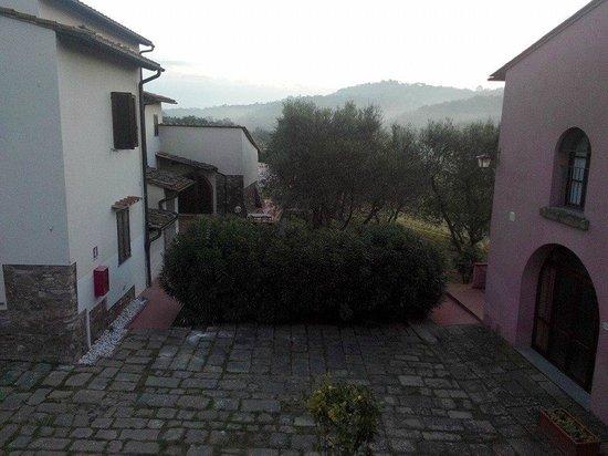 Villa Saulina : Dalla finestra
