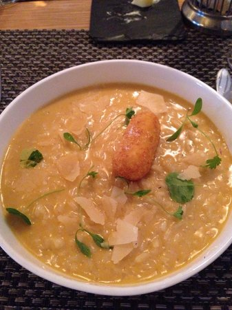 The Honours : Pumpkin Risotto - amazing