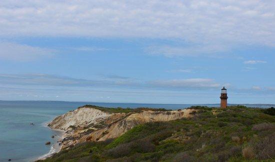 Pequot Hotel: Gay Head cliffs