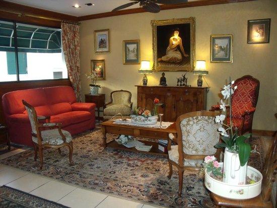 Hotel La Marisa : Salon de détente