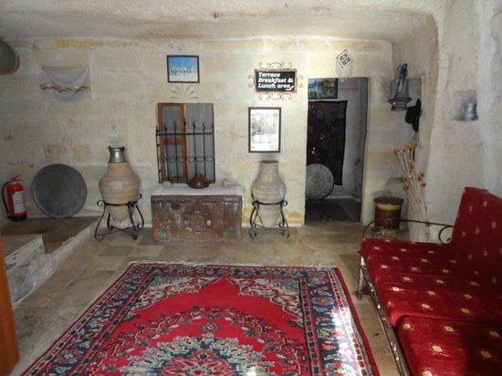 Caravanserai Cave Hotel : Eingangsbereich