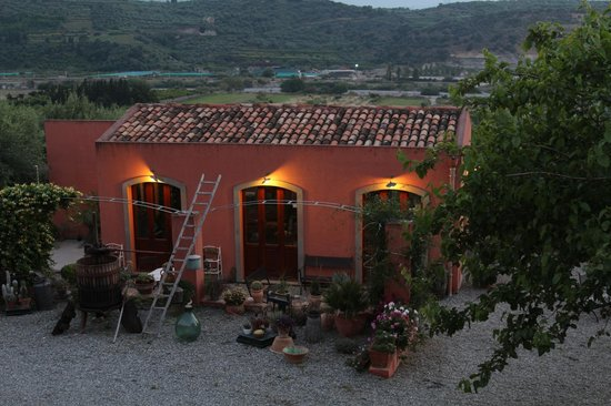 Agriturismo Antica Sena: view from the terrace(on reception)