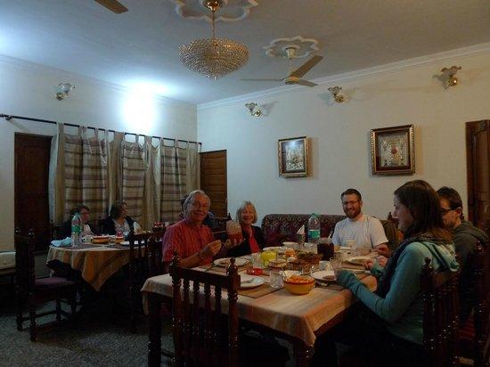 Homestay: dining room