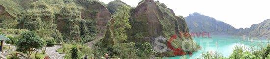 Mount Pinatubo : 1.5 hours walking