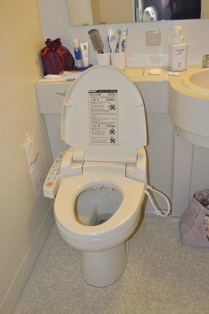 Sunshine City Prince Hotel : Les fameuse toilettes japonaises!