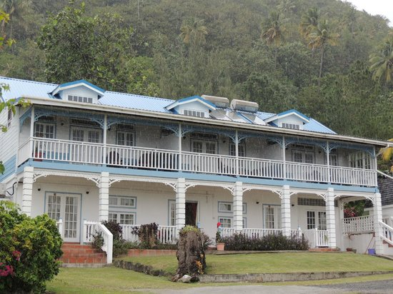 La Haut Resort: The main block of rooms