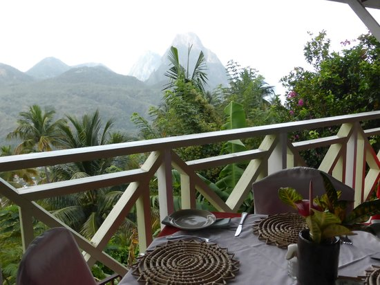 La Haut Resort: restaurant view