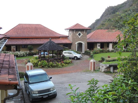La Haut Resort: the main house