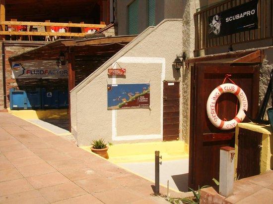 Trinità d'Agultu e Vignola, Italia: Centro Diving Fluidfactory Isola Rossa