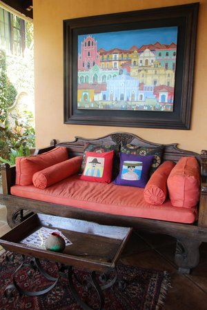 Villa Andalucia Bed and Breakfast : Outdoor Decor