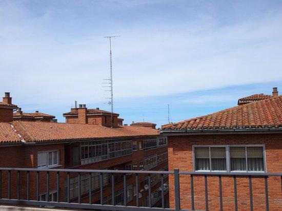 Apartamentos Soterrana: Вид на город из апартаментов