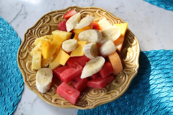 Villa Andalucia Bed and Breakfast : Fresh fruit for breakfast
