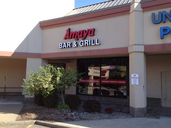 Amaya Indian Cuisine: Front of Amaya