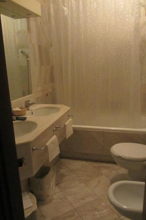 Hotel Alexander Palace: il bagno