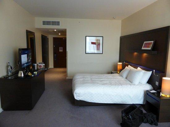 Hilton London Canary Wharf: double room