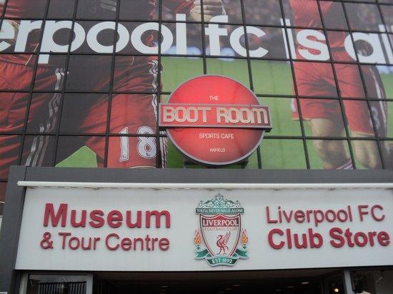 Anfield Stadium : Entrada